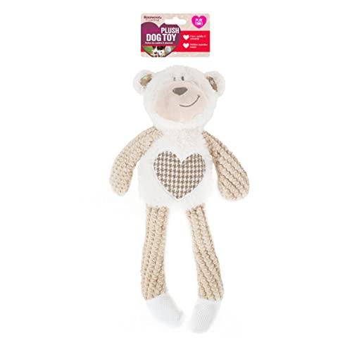 Rosewood 39149 Benjamin Bär Plüsch-Spielzeug für Hunde, braun,...