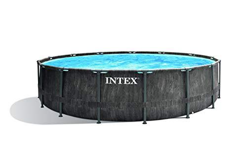 Intex Unisex– Erwachsene Premium Frame Pool Set Prism...