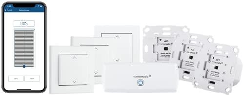 Homematic IP Smart Home Starter Set Beschattung – WLAN + Smart...