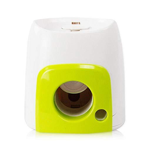 LyhomeO Mini Ballwurfmaschine für Hunde Automatischer Ballwerfer...