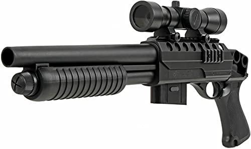 Cadofe Softair Gewehr Pumpgun M47B - Red Dot Visier Munition...