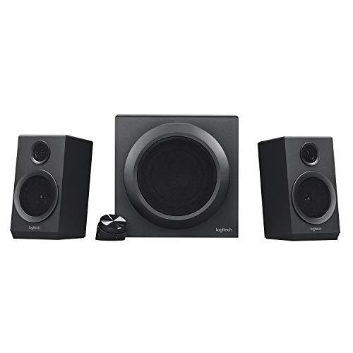 Logitech Z333 2.1 Lautsprecher-System mit Subwoofer, Satter Bass,...
