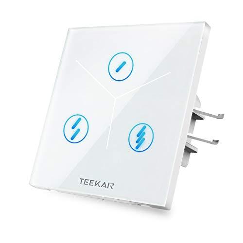 TEEKAR 【Schaltbare LED】 Zeitschaltuhr Digital WLAN...