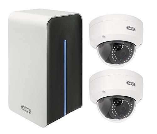 ABUS IP-Kamera Surveillance Set mit 4-Kanal WLAN-Rekorder...