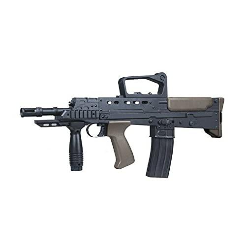B.W. Softair Gun Airsoft Pump Gun + Munition | CDF-188-Wood Profi...