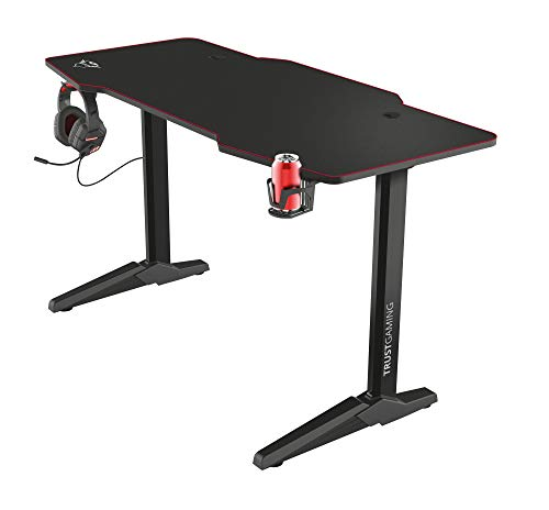 Trust XL Gaming Tisch (140 x 66 cm) GXT 1175 Imperius - Computer...