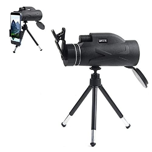 80x100 Outdoor Monokular-Teleskop mit Handyhalter und...