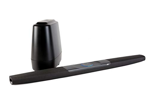 Polk Audio Command Bar Soundbar System mit Subwoofer, Amazon...