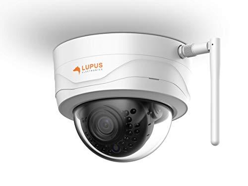 LUPUS 3MP WLAN IP Kamera für draußen, SD Slot, 100°,...