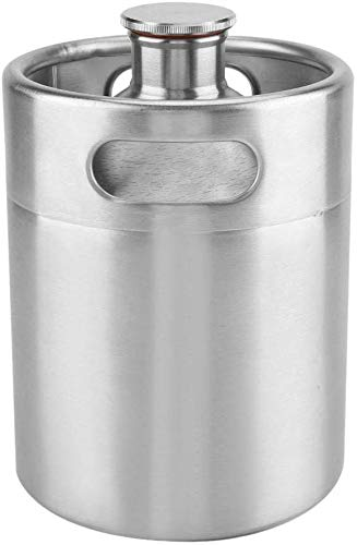 Namvo Mini Keg Style Growler Edelstahl Bier Homebrew Barrel mit...