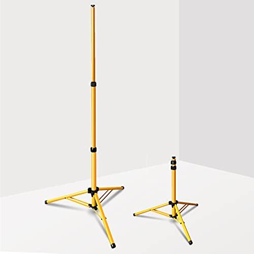 Faziango Stativ für LED-Strahler, Höhenverstellbar, Stativ ohne...