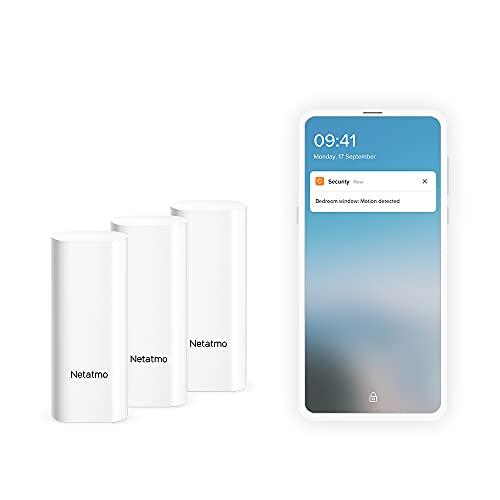 Netatmo DTG-UK Smart Door and Window Sensors, Wireless,...