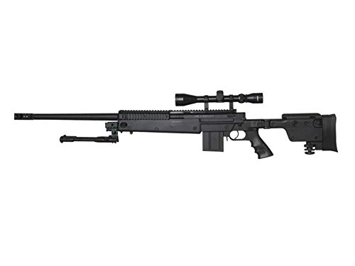 Well MB4407 Upgrade Airsoft Sniper Rifle, mit Metall Internals...