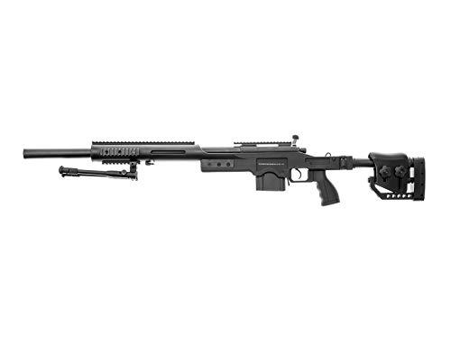 Swiss Arms Airsoft S.A.S 10 Sniper schwarz-...