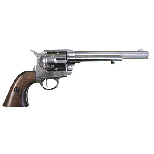 Denix Replica Kavallerie Colt vernickelt single action 35 cm USA...