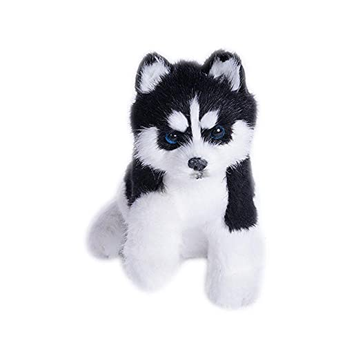 chushi Plüschspielzeug Realistische Husky Hundesimulation...