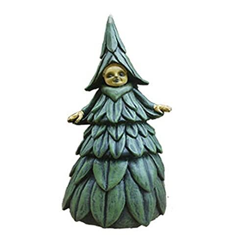 CUCUFA Halloween Hexe Figuren Harz Figur Statue Scary Ornament...