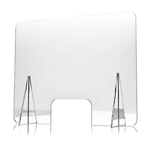 Spuckschutz Plexiglas aus Acrylglas - 3mm Glasklar Plexiglas...