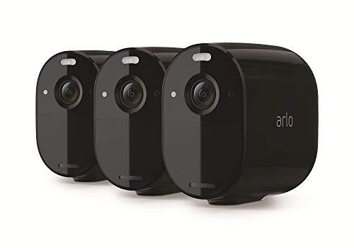 Arlo Essential Spotlight WLAN Überwachungskameras | Kabellos,...