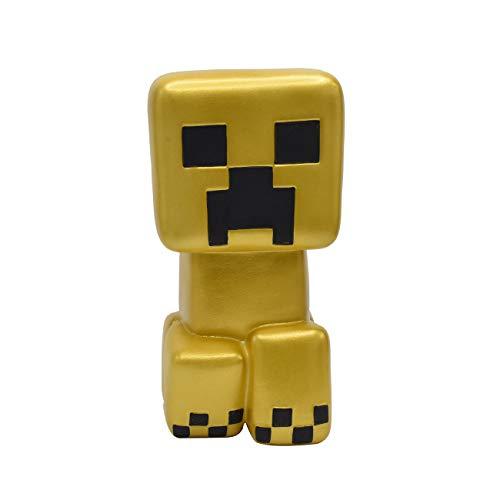 Just Toys LLC Minecraft Gold Creeper Mega SquishMe