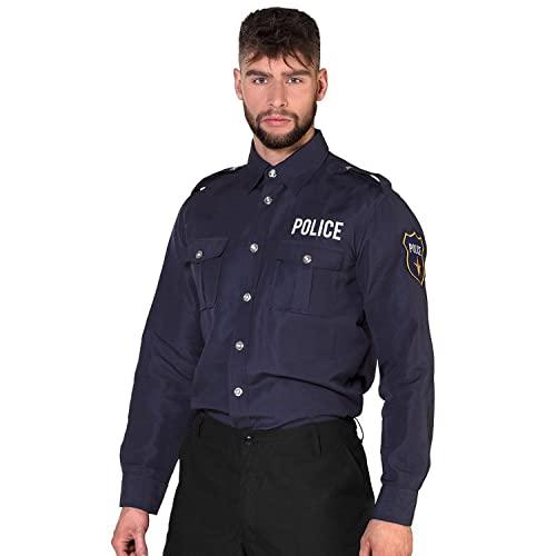 Boland - Polizei-Shirt, verschiedene Größen für Herren,...
