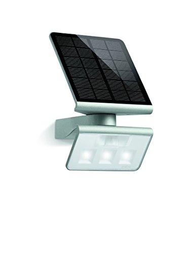 Steinel Solar-Außenleuchte XSolar L-S silber, 140°...