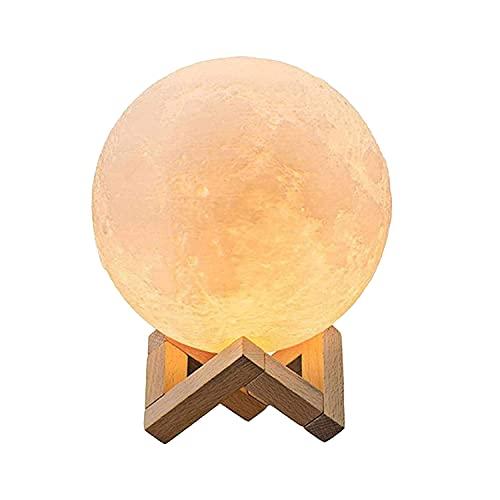 Mond Lampe 3d Druck, Mondlampe Kugel 20cm, Lunalamp mit...