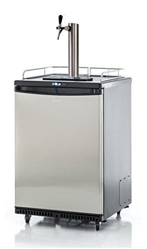 Fassbierkühlschrank 50l Fässer mit Schanksäule, Keg, Uhr,...