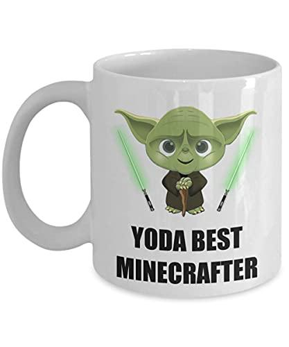 Younini Yoda Best Minecrafter Geburtstags-Geschenk für Star Wars...