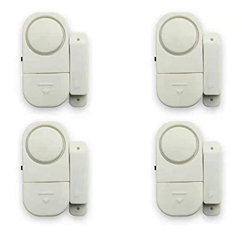 4 Stück Tür-/Fensteralarm, persönliche Sicherheit für...