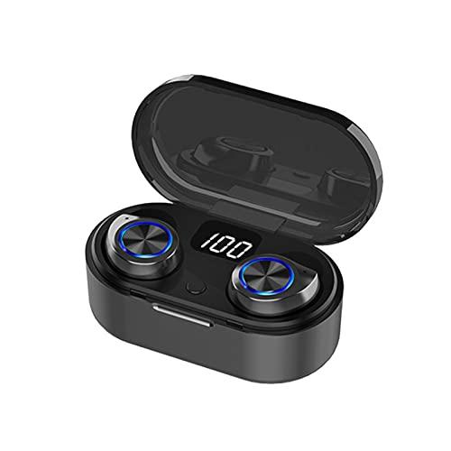 WLBH Drahtlose Kopfhörer, Stereo-Halb-in-Ear-Ohrhörer mit...