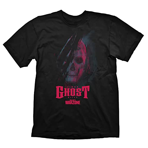 Call of Duty: Warzone T-Shirt 'Ghost' Black Size S