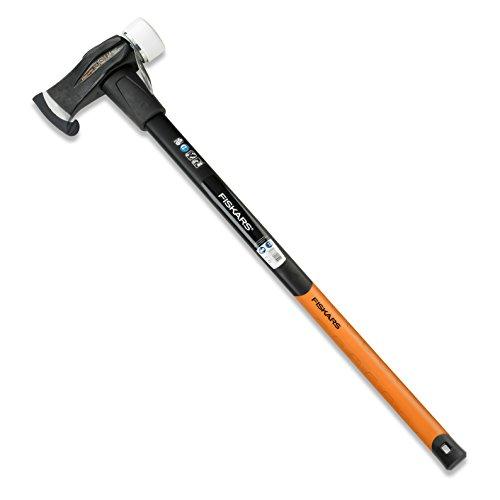 Fiskars Spalthammer (geschmiedet), 2 in 1: Axt und Hammer,...