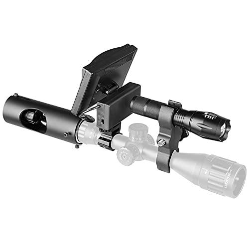 200m Digital Low-Light Nachtsichtgerät Laser Infrarot 5 Zoll...