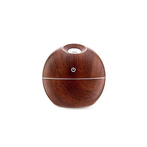 YNHNI 130ml Mini USB-Art-Luftbefeuchter Aromatherapie Holzöl...