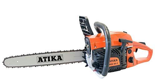 ATIKA Benzin Motorsäge Kettensäge Säge BKS 45-2 NEUES MODELL...