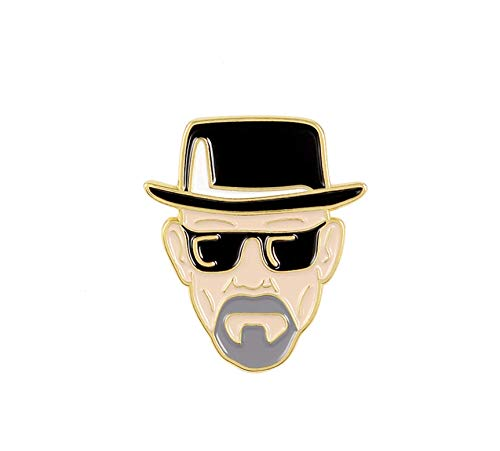 Patch Nation Heisenberg Metall Button Badge Pin Anstecker Cosplay...