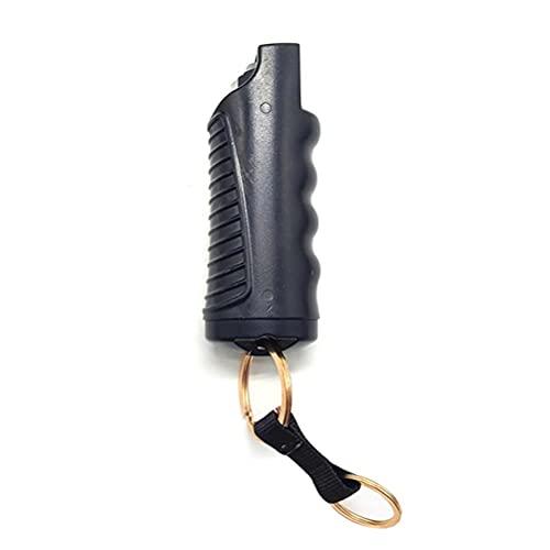 Gwteop Pfefferspray Schlüsselanhänger, 20ml Schutzhülle aus...