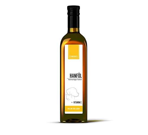 Canobel Hanfsamenöl für Hunde und Katzen 500 ml I Bis 65% an...