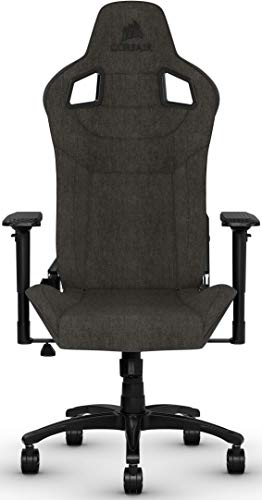 Corsair T3 Rush, Polyester Stoff Gaming Büro Stuhl...