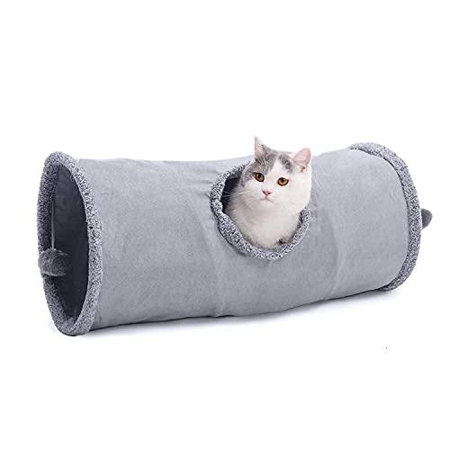 TEAYASON Katzen-Tunnel-Kaninchen-Tunnel Katze Spieltunnel Für...