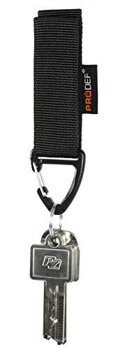 PRODEF ® Gürtelanhänger für Schlüssel Mod. II, Verstellbarer...