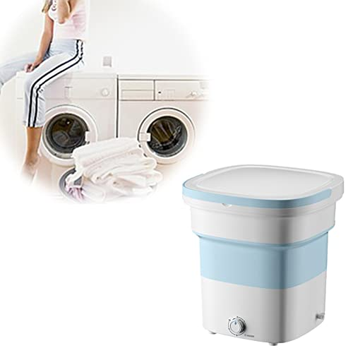 WXking Tragbare Waschmaschine Mini-Waschmaschine, Faltbare kleine...