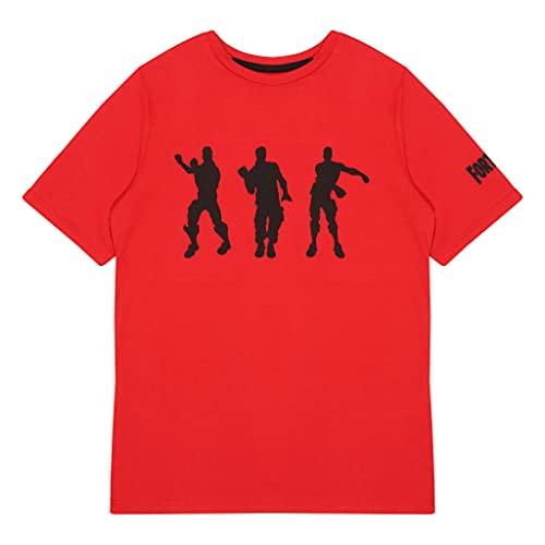 Fortnite Dance Moves Jungen T-Shirt, Offizielles Lizenzprodukt,...