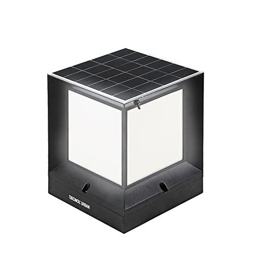 TECNOL Urban Solar-LED-Würfel, 26 x 31