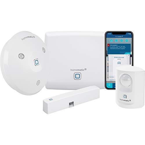 Homematic IP Smart Home Starter Set Alarm - Intelligenter Alarm...