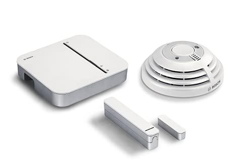 Bosch Smart Home Starter Set Einbruchschutz, Rauchmelder,...