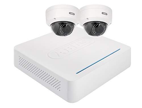 ABUS IP-Kamera Surveillance Set mit 4-Kanal Rekorder, 2x WLAN...