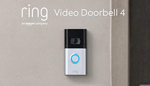 Die neue Ring Video Doorbell 4 von Amazon – HD-Video mit...