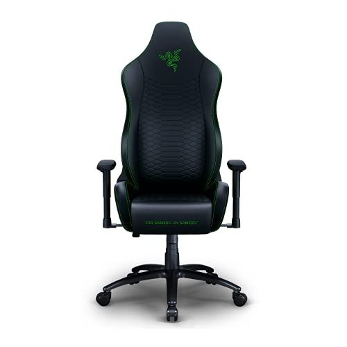 Razer Iskur X Gaming-Stuhl, Kunstleder, schwarz/grün, Chair